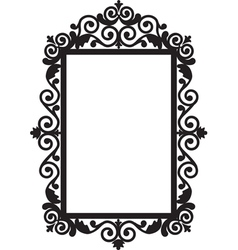 Antique frame vector