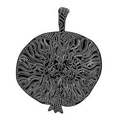 apple in the style of vector image