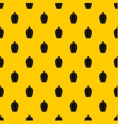 blooming cactus pattern vector image