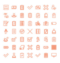 check icons vector image