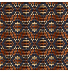 fabric pattern vector image vector image