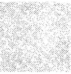 grunge texture on white background black abstract vector image