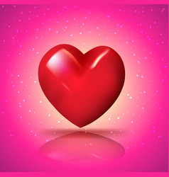heart for love vector image