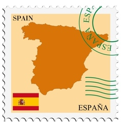 Mail to-from spain vector