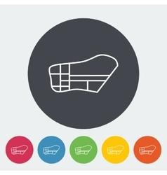 Muzzle icon vector image