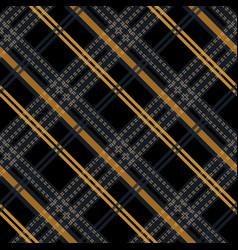 Seamless pattern tartan cloth checkered pattern vector