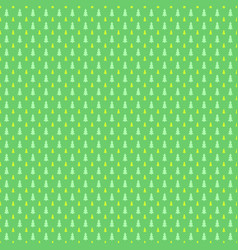 seamless retro stylized pine tree forest pattern vector image
