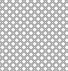 Seamless waffle texture black and white vector image