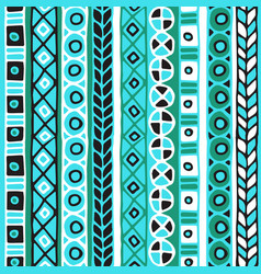 colored seamless pattern of stripes vector image vector image