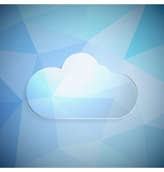 Clouds frame vector image vector image