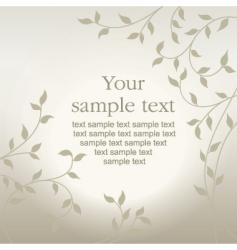 foliage vector image vector image