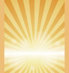 orange color burst background vector image