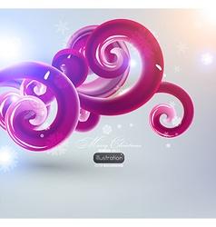 Abstract Christmas Design vector