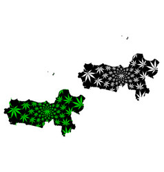 central java subdivisions indonesia provinces vector image