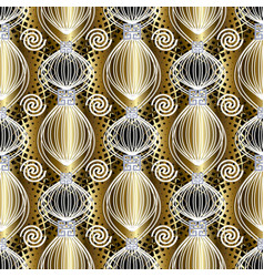 greek abstract seamless pattern vector image