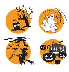 halloween 2 vector image