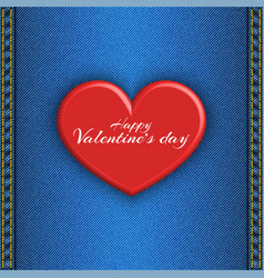Happy valentines day text love holiday concept vector