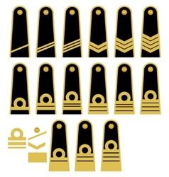 Lithuanian Navy insignia vector