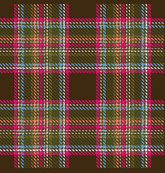 Plaid tartan seamless pattern background vector