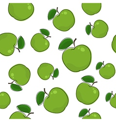 Seamless Pattern of Apple vector