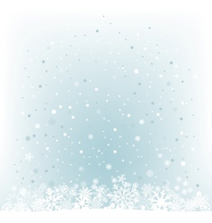 soft light blue snow mesh background vector image