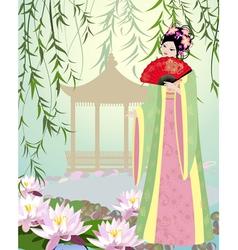 China girl7 vector