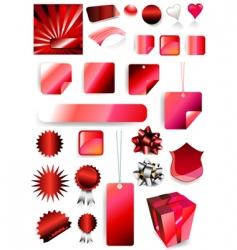 gift set vector image vector image