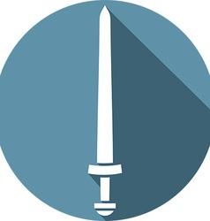 Viking Sword Icon vector image