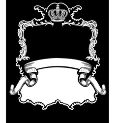 royal crown vintage vector image