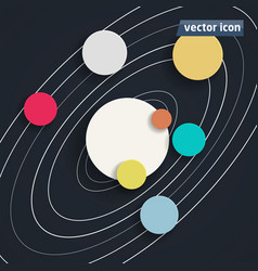 Background flat design vector