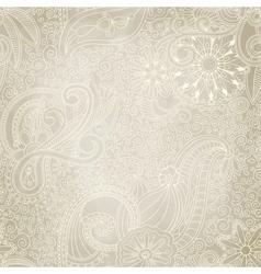 Beautiful seamless vintage pattern vector image
