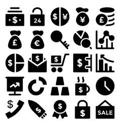 Business Icons 4 vector