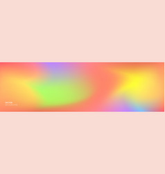 color gradient background abstract rainbow vector image