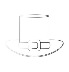 elf hat symbol vector image