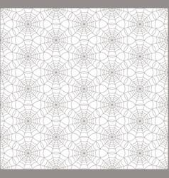 Geometric shape seamless line web pattern nature vector