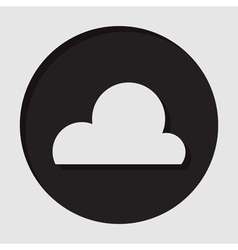 information icon - cloud vector image