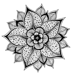 outline Mandala for vector image