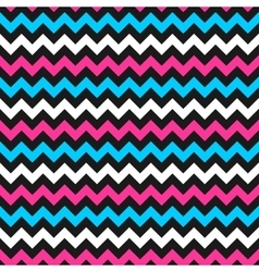 Zigzag color pattern vector