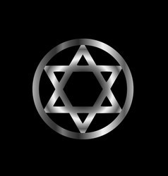 the seal of solomon vector image vector image