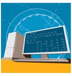 engineering vector image