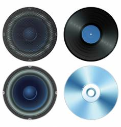 sound set vector image vector image