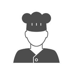 Cook avatar icon vector image