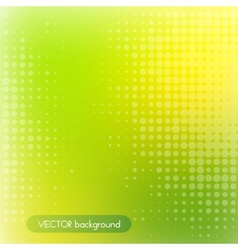 Green and yellow background vector