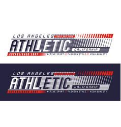 la california athletic sport vector image