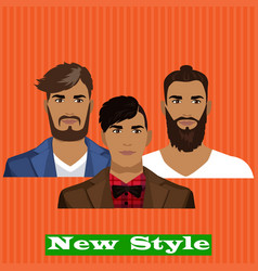 new style vector image