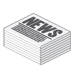 Newspaper vector