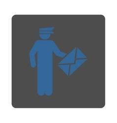 Postman icon vector image