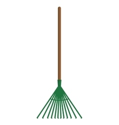 Rake icon Gardening design graphic vector
