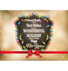 Golden Christmas background EPS 10 vector image vector image