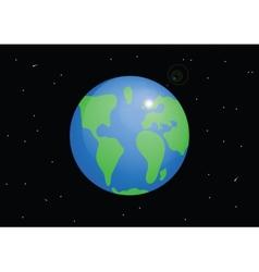 Planet Earth Cartoon vector image